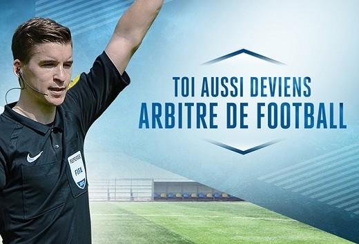 Vous souhaitez devenir arbitre… – DISTRICT DU GERS DE FOOTBALL